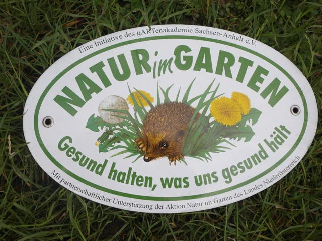 Zertifikat Natur Im Garten